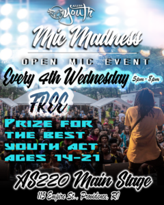 MIC MADNESS! $100 Prize @ AS220 Main Stage | Providence | Rhode Island | United States