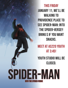SPIDERMAN: INTO THE SPIDERVERSE!