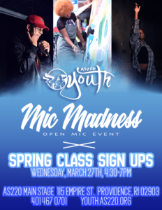 Mic Madness X Spring Class Sign Ups