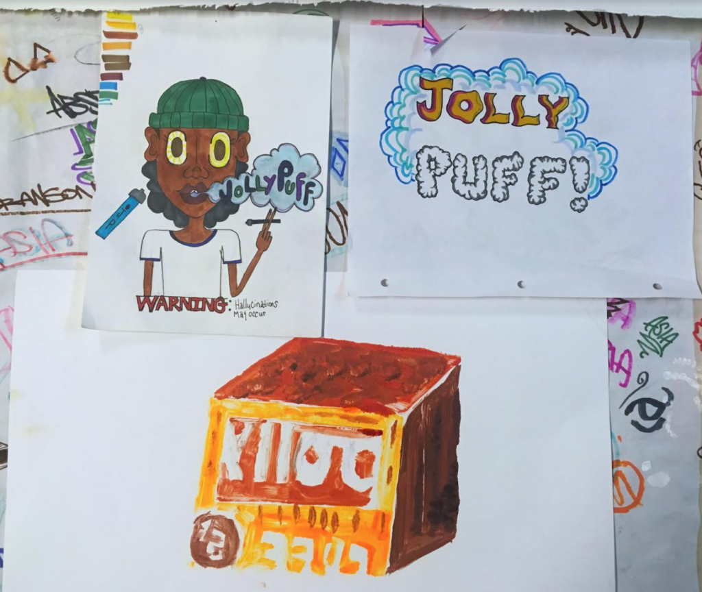 Jolly Puff designs by Visuals Apprentices