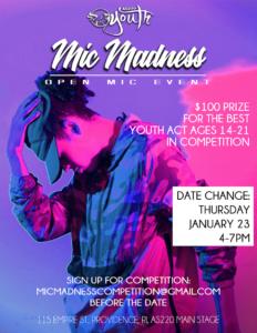 January 2020 Mic Madness!