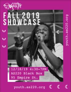 Fall 2019 Showcase @ AS220 Black Box Theatre